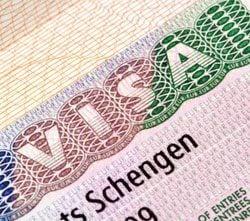 Aanvraag Schengenvisum
