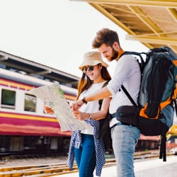 Populaire routes voor backpackers