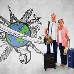 Lang op reis of op wereldreis